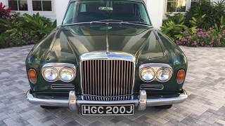 1971 Bentley Mulliner Park Ward Coupe Review and Test Drive by Bill - Auto Europa Naples