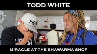 Todd White - Miracle at the Shawarma Shop (ISRAEL Part 8 )