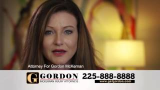 Baton Rouge Injury Lawyer | I Am Gordon McKernan Injury Attorneys