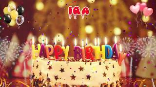 IRA Happy Birthday Song – Happy Birthday Ira – Happy birthday to you
