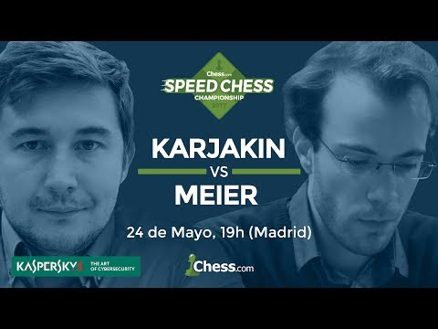 Speed Chess Ronda 1: GM Sergey Karjakin vs GM Georg Meier