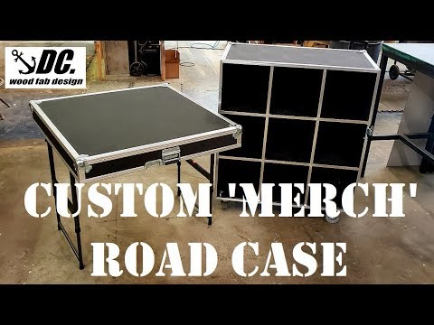 Custom Road Case With Lid/Table.