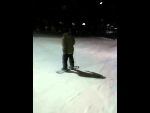3rd week snowboarding- Matt Strickland