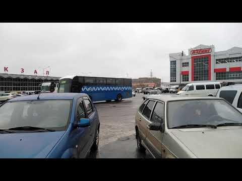 Автовокзал в Астрахани. Билеты домой.Январь 2020г.