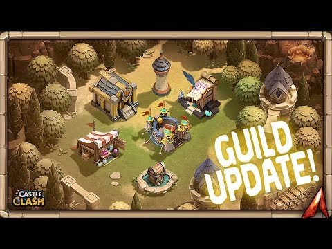 Castle Clash Guild Update Sneak Peek!