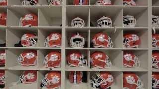 Clemson Football || Inside the Equipment Room: The Helmet