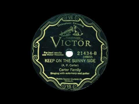 Carter Family Keep On The Sunny SideVICTOR21434 B