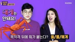 [기초영어문법] 12강. 인칭대명사 목적격(me, yo…