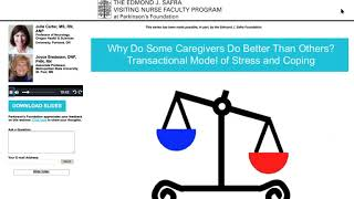 Nursing Solutions: Improving Caregiver Strain through Science and Model Interventions