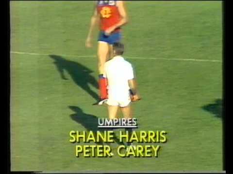 St Kilda vs Fitzroy  Rd 3  1989
