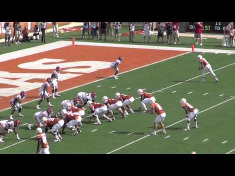 Iowa State-Texas 2012: Johnathan Gray Touchdown