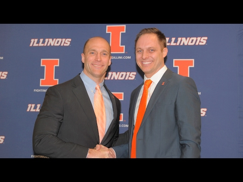 Illinois Volleyball Chris Tamas Introductory Press Conference 2/10/17
