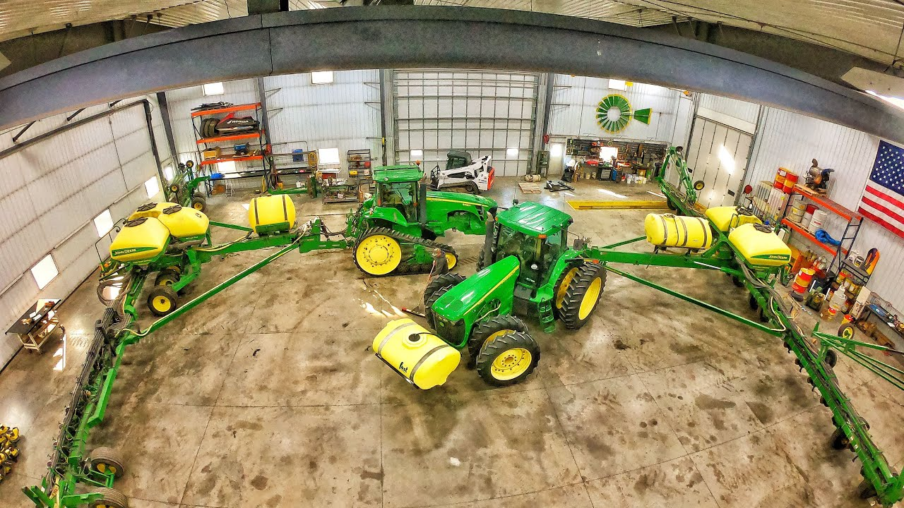 Two 60foot Planters Fit In The Shop Unfolded Youtube