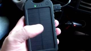 солнечное, аккумуляторное, зарядное устройство для мобильных телефонов