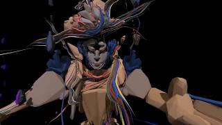 Björk - Features creatures VR by: Sutu