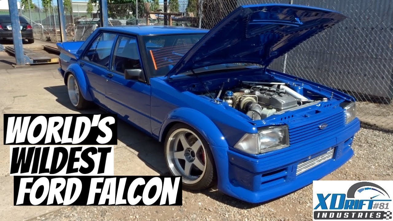 The Wildest XD FORD Falcon Drift car in the WORLD!