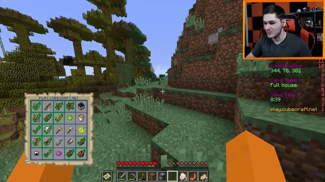"""Minecraft BINGO #3 – """"Ten budynek da Ci zwycięstwo!"""" w/ Hunter"""