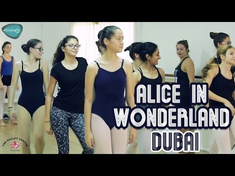 The Ballet Centre Presents 'Alice In Wonderland at Dubai Community And Arts Centre