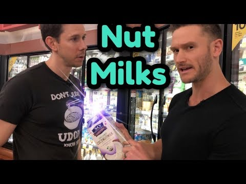 Choosing the Right Nut Milk at the Grocery Store - Educational Grocery Haul