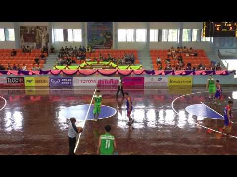 บาสเกตบอล กีฬาเยาวชนแห่งชาติ ครั้งที่ 33 (16-3-60) กรุงเทพมหานคร - เชียงราย