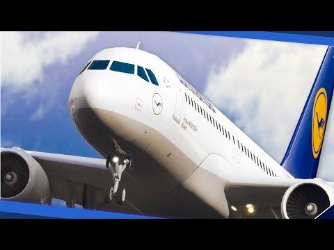 EURO FLUG-SIMULATOR: Gameplay und Interview zur Flug-Simulation Ready for Take off - A320 Simulator