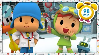 🔬 POCOYO in ENGLISH - Science Experiments for Kids [98 min] | Full Episodes | VIDEOS and CARTOONS