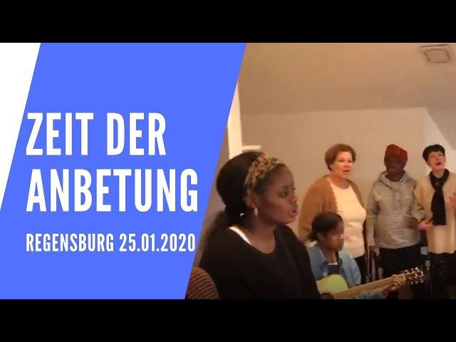 Zeit der Anbetung (Regensburg 25.01.2020)