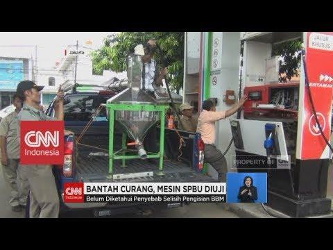 Bantah Curang, Mesin SPBU Condet Diuji
