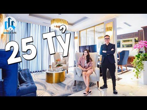"""Chiêm Ngưỡng SKY VILLA """"SANG CHẢNH"""" Trị Giá 28 TỶ rộng 210m2 tại Vinhomes Metropolis - NhaF [4K]"""