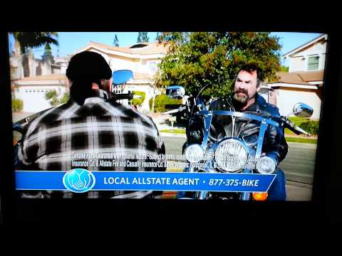 Allstate Motorcycle Insurance Commercial