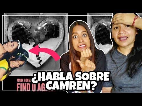 Mark Ronson - Find U Again ft Camila Cabello  REACCIÓN  Meli Sbeib