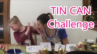 TIN CAN challenge w/sestra | Veronika Spurná