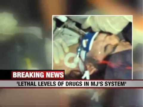 Michael Jackson Died Of Drug Overdose