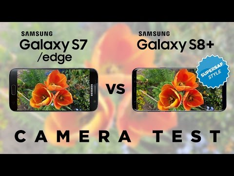 Samsung Galaxy S8 vs Galaxy S7 Camera Test Comparison