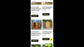 Garden shed & Log cabin Finance Calculator