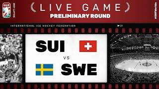 Switzerland - Sweden | Live | Group A | 2021 IIHF Ice Hockey World Championship