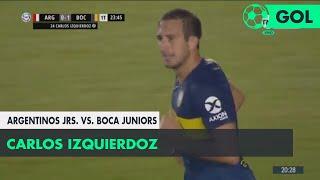 Carlos Izquierdoz (0-1) Argentinos Juniors vs Boca Juniors | Fecha 5 - Superliga Argentina 2018/2019