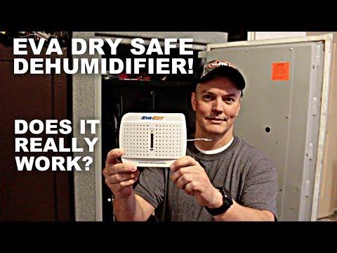 Eva Dry Safe Dehumidifier! Does it work?