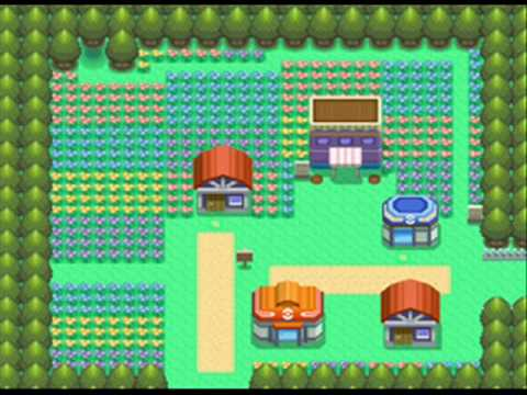pokemon pearl how to get to floaroma town