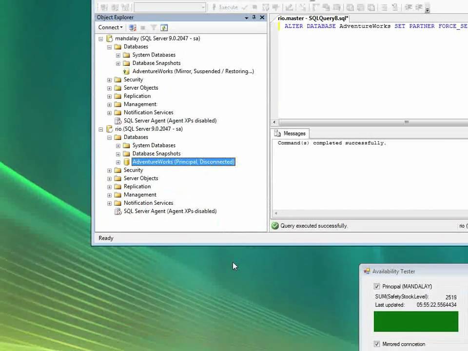 SQL Server Mirroring - A Practical Approach | Mark S  Rasmussen