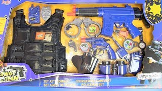 Toys Gun for Kids ! SWAT Set Toys Gun - Box of Gun Toys