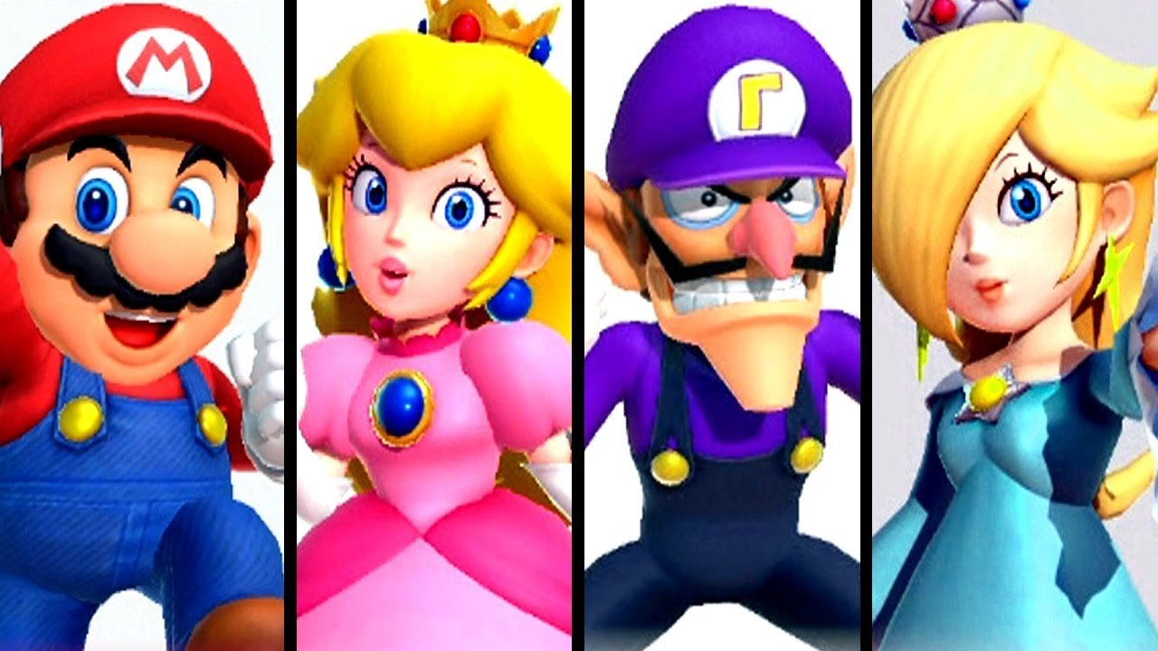 Super Mario Party ALL CHARACTERS (Switch)