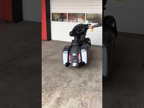 2018 CVO Street Glide with Fullsac Exhaust