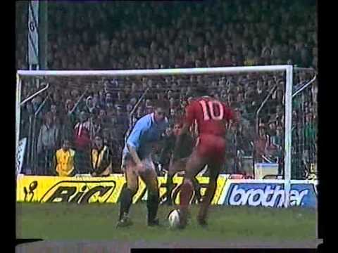 Manchester City 0 Liverpool 4 13/03/1988 FA Cup