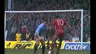 manchester city 0 liverpool 4 13 03 1988 fa cup