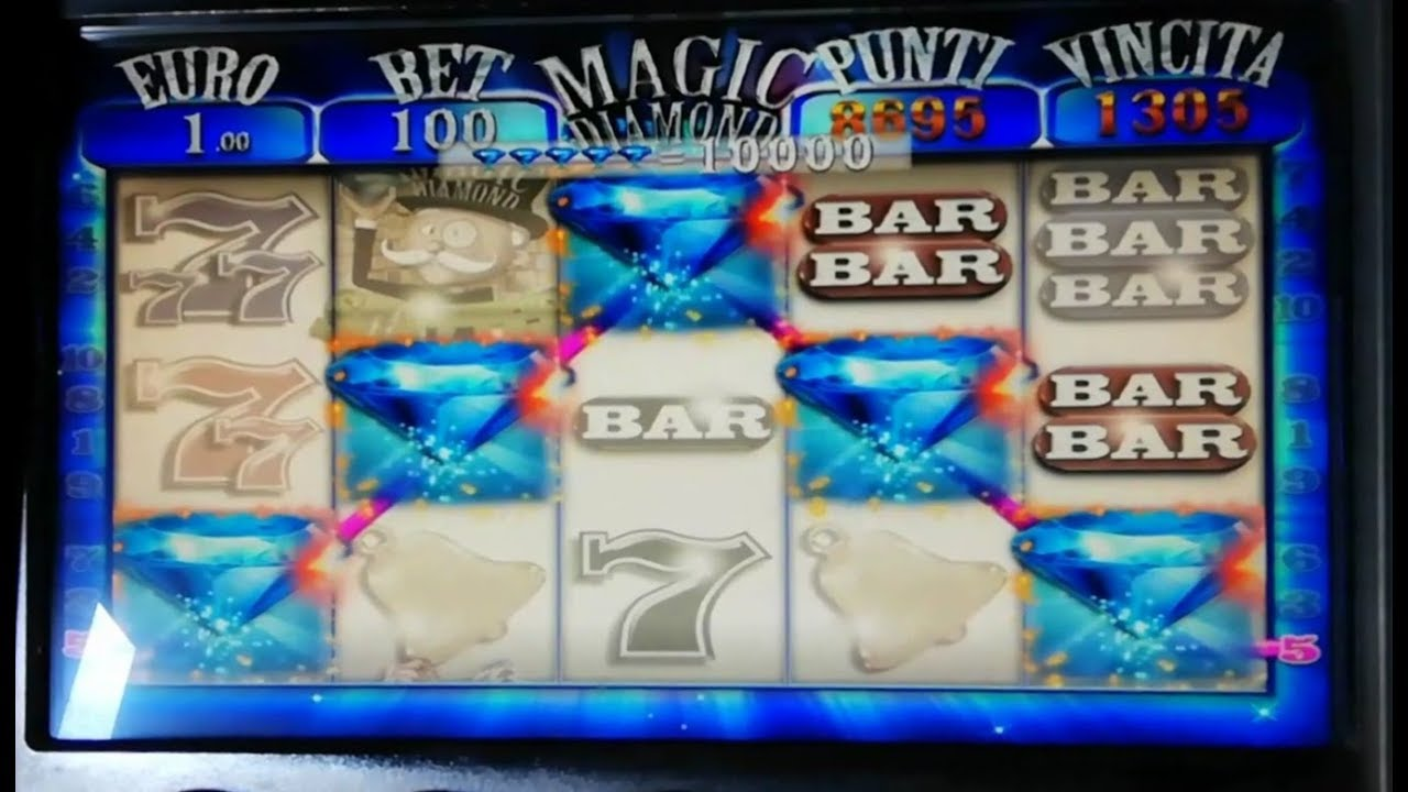 SLOT MACHINE BAR DIAMOND ????????  5 DIAMANTI