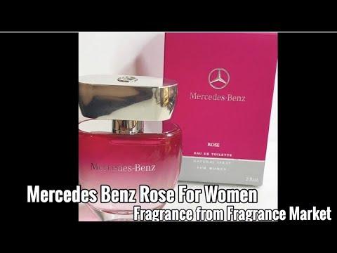 mercedes benz rose fragrance for women from fragrance. Black Bedroom Furniture Sets. Home Design Ideas