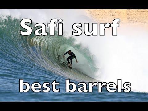 SAFI Surf Morocco Winter 2017 .... BEST BARRELS IN  AFRICA ....FULL HD