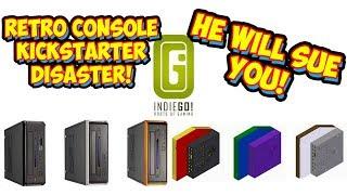 Kickstarter Project Creator Will Sue You! IndieGo! Retro Console XS