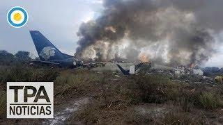 Cayó un avión de Aeroméxico | #TPANoticias